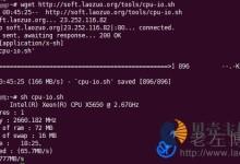 一键VPS脚本获取VPS服务器配置及Speedtest多节点上传下载测速-贝壳主机网