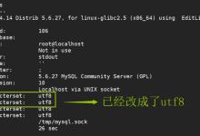 Linux系统中修改MySql默认编码的方法教程-贝壳主机网