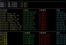 对比几个主流的服务器性能一键测试脚本-贝壳主机网