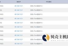 HostKVM - 香港大浦 KVM 2GB内存 40GB硬盘 3Mbps不限流量 59元/月-贝壳主机网