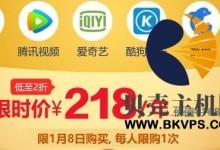 京东PLUS会员,年付49元;或218元,送1年腾讯视频VIP、爱奇艺VIP等等-贝壳主机网