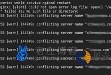 解决WDCP面板环境可以打开但网站打不开方法记录-贝壳主机网